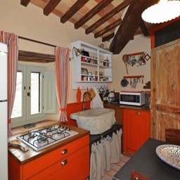 Bramasole: The kitchen, everything you need for your holiday in Tuscany