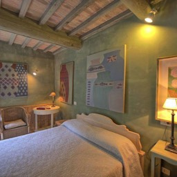 Casa del Rosmarino: The downstairs double bedroom