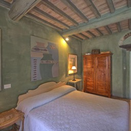 Casa del Rosmarino:  One of the bedrooms