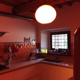 Apartment Alice: Kitchen with all the necessaries for cooking lunches and dinners whilst at home at your self catering holiday home, Tuscany