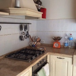 Apartment Giovanna: The well equipped kitchen, perfect for those looking for a self catering holiday house