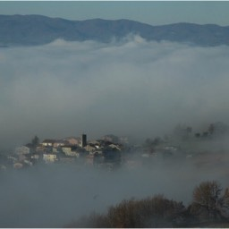 Cinque Querce e Mezzo: An early morning view of the valley
