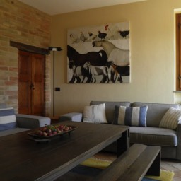 Borghetto Calcinaia: Relax in the lounge area