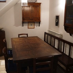 La Casina: The dining area, perfect for meals during your holiday in Anghiari, Tuscany