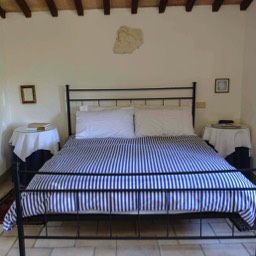 La Casina: The double bedroom in the main house
