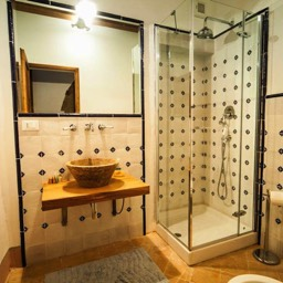 Palazzolo Farmhouse:  Each bedroom has its own private bathroom