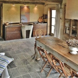 Tobacco Loft: The dining room and kitchen, an amazing self catering holiday home, Tuscany