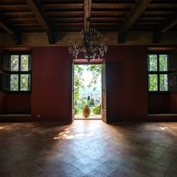 Villa Paradiso: One of the large open spaces