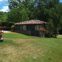Villa Sergia: Plenty of space for the family to enjoy, outside in Tuscany